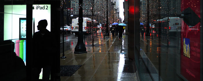 Rain in Chicago