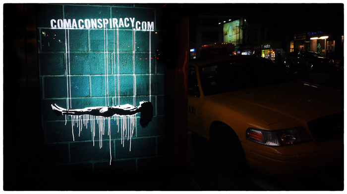Comaconspiracy in Manhattan