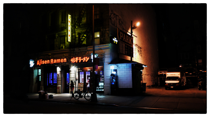 Late night ramen in Manhattan
