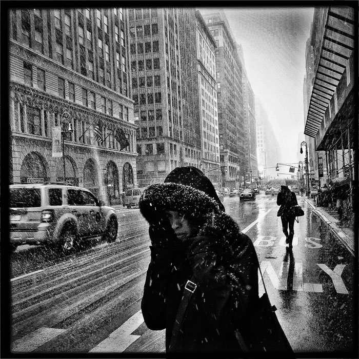 Snow in Manhattan